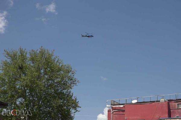 VİDEO HABER – Sokağa çıkma yasağı helikopterle denetleniyor