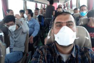 Diyarbakır'a getirilen 81 işçi yurda yerleştirildi