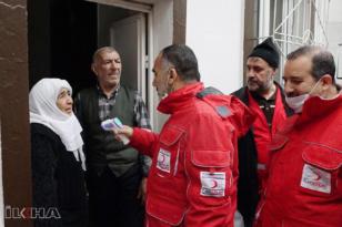VİDEO HABER – Diyarbakır'daki yaşlılara gıda yardımı
