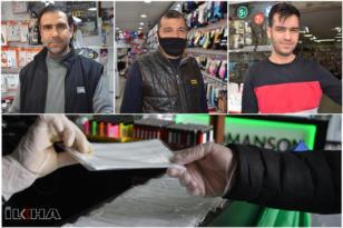 VİDEO HABER – Ellerinde kalan maskeler için çözüm bekliyorlar!