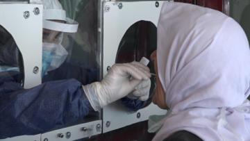 VİDEO HABER – Koronavirüs'ten 'Sürüntü Kabini'yle korunuyorlar!