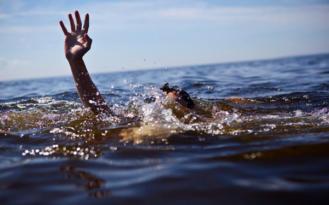 Serinlemek için girdiği baraj suyunda can verdi!