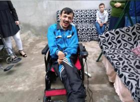 Engelli gencin akülü sandalye hayali gerçeğe dönüştü