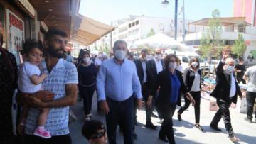 DTK, DBP ve HDP'den Sur ziyareti