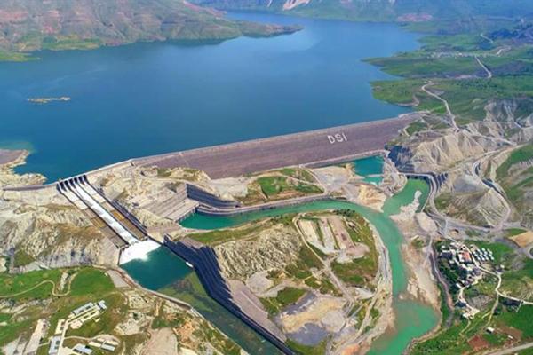 Ilısu Barajı'nda su seviyesi123 metreye ulaştı