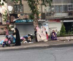 Mülteci kadınların ağır yükü!