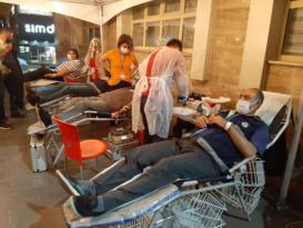 Hayat kurtarmak için kan bağışında bulundular