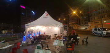Diyarbakır'da vatandaşlar kan bağışı çağrısına duyarsız kalmadı