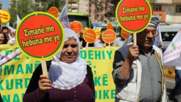 'Bir gün değil, her gün Kürtçe' kampanyası