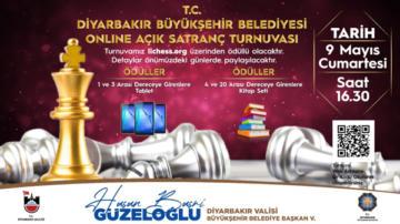 Online açık satranç turnuvası