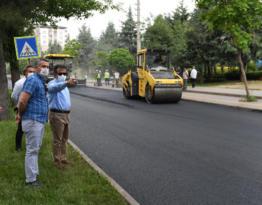 Güzeloğlu asfalt çalışmalarının startını verdi