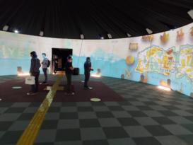 Dijital Gösterim Çadırı ziyaretçilerini bekliyor
