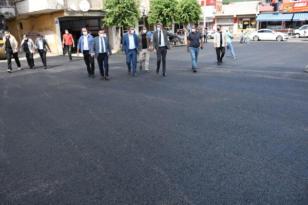 Bağlar'da 3 ayda 30 bin ton asfalt serildi