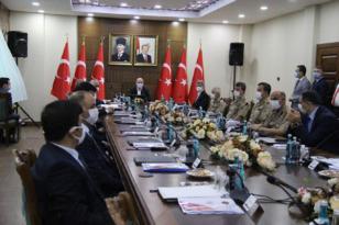 VİDEO HABER – Bakan Soylu Diyarbakır'da güvenlik toplantısına katıldı