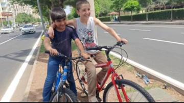 Çocukların bisiklet hayali gerçeğe dönüştü