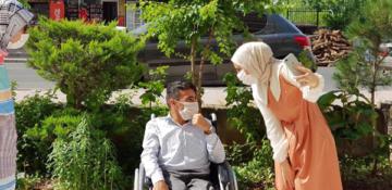 Hüseyin'in yardımına Merve öğretmen yetişti