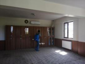 Kur'an kursları dezenfekte edildi