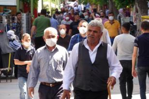 O ilçede maskesiz sokağa çıkma yasaklandı