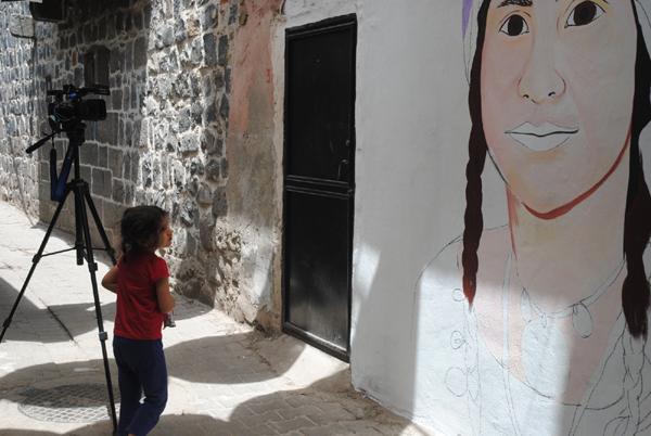 'Sokaklar sanat için özgür alanlardır'