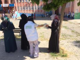 Yenişehir Belediyesi velileri unutmadı