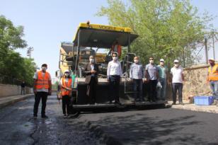 Yenişehir'e 80 bin ton asfalt