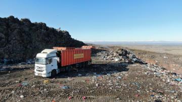 25 yıllık çöp depolama sorunu çözülüyor