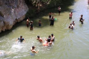 Tatile çıkamayanların uğrak mekanı: Birkleyn Mağaraları