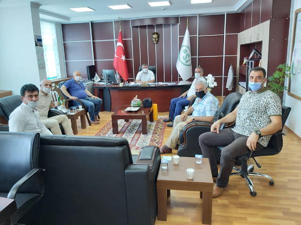ASKF'den DSİ 10. Bölge Müdürü Arslan'a ziyaret