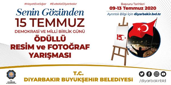 Büyükşehir Belediyesi'nden 15 Temmuz temalı ödüllü yarışmalar
