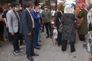 Beyoğlu'dan Sakarya Caddesi esnafına ziyaret
