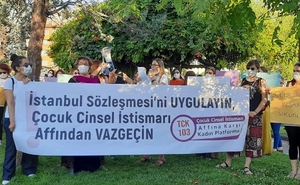 Kadınlar ve çocuklara karşı şiddeti durdurun!