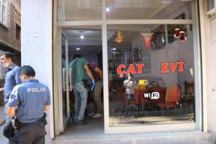 VİDEO HABER – Kıraathaneyi silahlı saldırı: 1 ölü