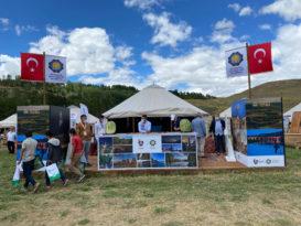 Ahlat Otağı'nda Diyarbakır'ın tarihi tanıtıyor