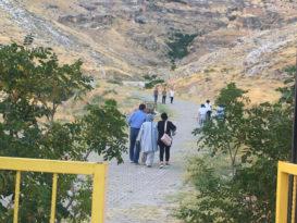 Hasuni Mağaralarında turizm canlandı
