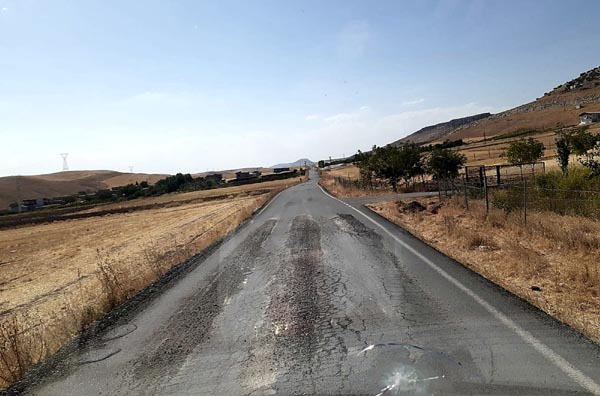 Silvan-Hazro arasında yol çilesi bitmiyor