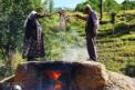 VİDEO HABER – Bağdan sofraya üzüm pekmezinin zorlu yolculuğu