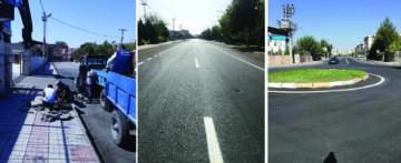 Bağlar'a 84 bin ton asfalt serildi!