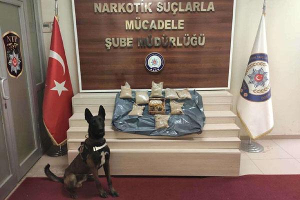 VİDEO HABER – Bal kutularından 9 kilo uyuşturucu çıktı