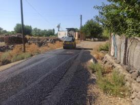 Büyükşehir asfaltlama çalışmalarını hızlandırdı