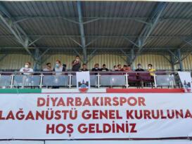 Diyarbakırspor'un yeni başkanı ve yönetimi belli oldu