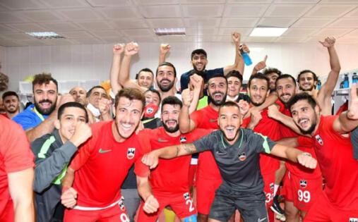 Diyarbekirspor'da galibiyet sevinci