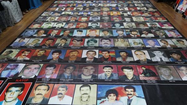 Kayıp yakınları, Mahmut Doğan'ın faillerini sordu