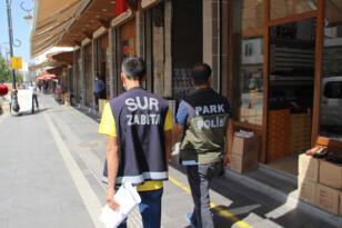 Diyarbakır'da koronavirüs denetimi