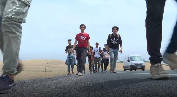 Diyarbakır Otogarı'nda mülteci dramı yaşanıyor