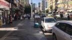 Bıçaklı saldırıyı devriye gezen polis ve bekçi önledi