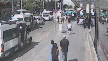 VİDEO HABER – Saatçiye saldırı kameralara yansıdı!