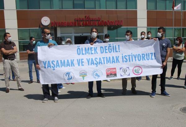 Diyarbakır da 7 sağlık çalışanı yaşamını yitirdi