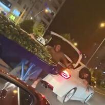 VİDEO HABER – Seyyar satıcının otomobil bagajında tehlikeli yolculuğu