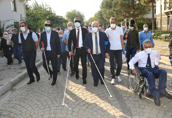 Büyükşehir Belediyesi engellileri unutmadı!