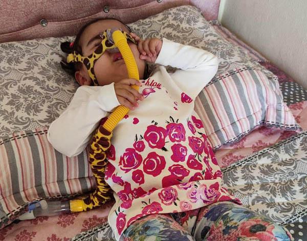 SMA hastası Esma, tedavisi için yardım bekliyor